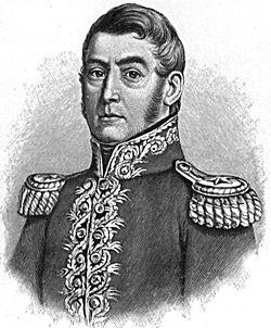 Primera época Republicana (1821-1842) 250px-Josedesanmartin
