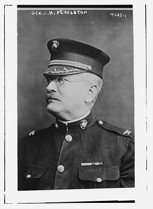 Joseph Henry Pendleton - Pendleton in 1917