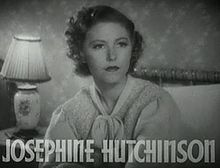 Josephine Hutchinson Little House On The Prairie