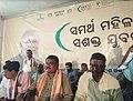 Jual Oram at the Kaushal Vikash Mela, organised by the National Skill Development Corporation, during Gram Swaraj Abhiyan in Koida, Lathikata, Lahunipada villages of Sundargarh district, in Odisha.JPG