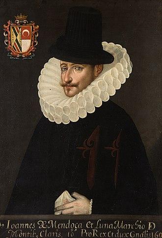 Juan de Mendoza, 3rd Marquess of Montesclaros - Juan de Mendoza y Luna, marqués de Montesclaros