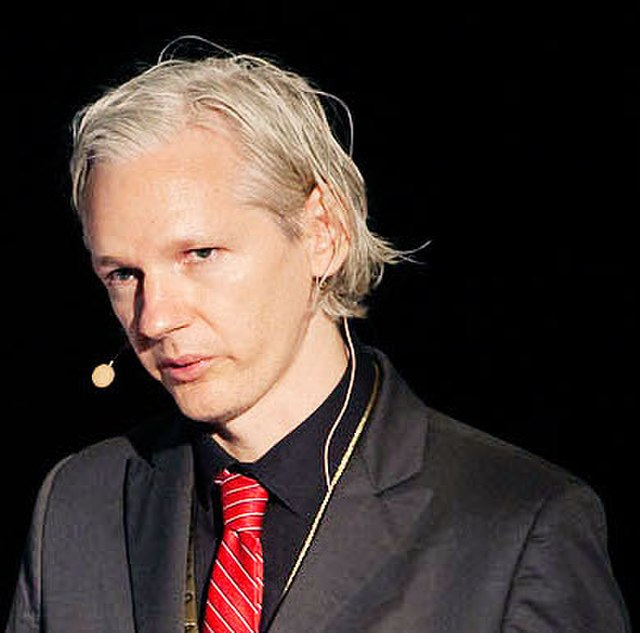From commons.wikimedia.org: Julian Assange: Came close to a deal with the U.S. {MID-300480}