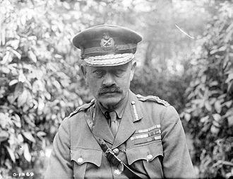 Julian Byng, 1st Viscount Byng of Vimy - Byng in April 1917