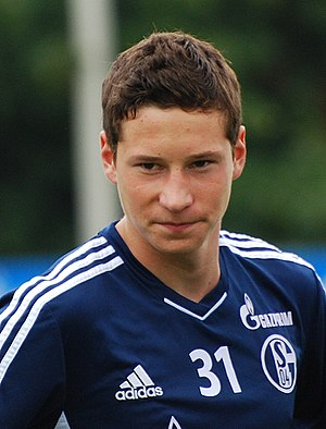 Julian Draxler - Draxler with Schalke in 2011