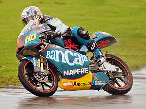 2009 Grand Prix motorcycle racing season - Image: Julian Simon 2009 Donington