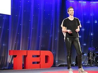 Julie Freeman - Image: Julie Freeman at TED from Flickr