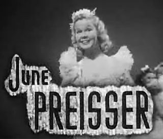 June Preisser actress (1920-1984)