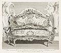 Juste-Aurèle Meissonnier - Canapé executé pour Mr. le Comte de Bielinski Grand M.al de la Couronne de Pologne, en 1735.; Canapé... - Google Art Project.jpg