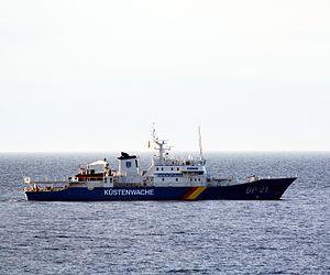 Kühlungsborn Schiff der Küstenwache.JPG