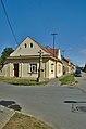 Kříž na rohu ulic 5. května a Čechovická, u domu čp. 188, Čechovice, Prostějov.jpg