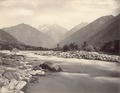 KITLV 100465 - Unknown - River, probably in Kashmir in British India - Around 1870.tif