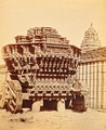 KITLV 92036 - Unknown - Juggernaut cart in the Ulsoor temple complex in Bangalore, India - Around 1870.tif
