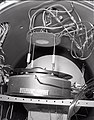 KLYSTRON CALORIM E ANAL ASSEMBLY IN HUGHES CHAMBER AND THE UNITED STATES AIR FORCE USAF TEST BENCH - NARA - 17424158.jpg