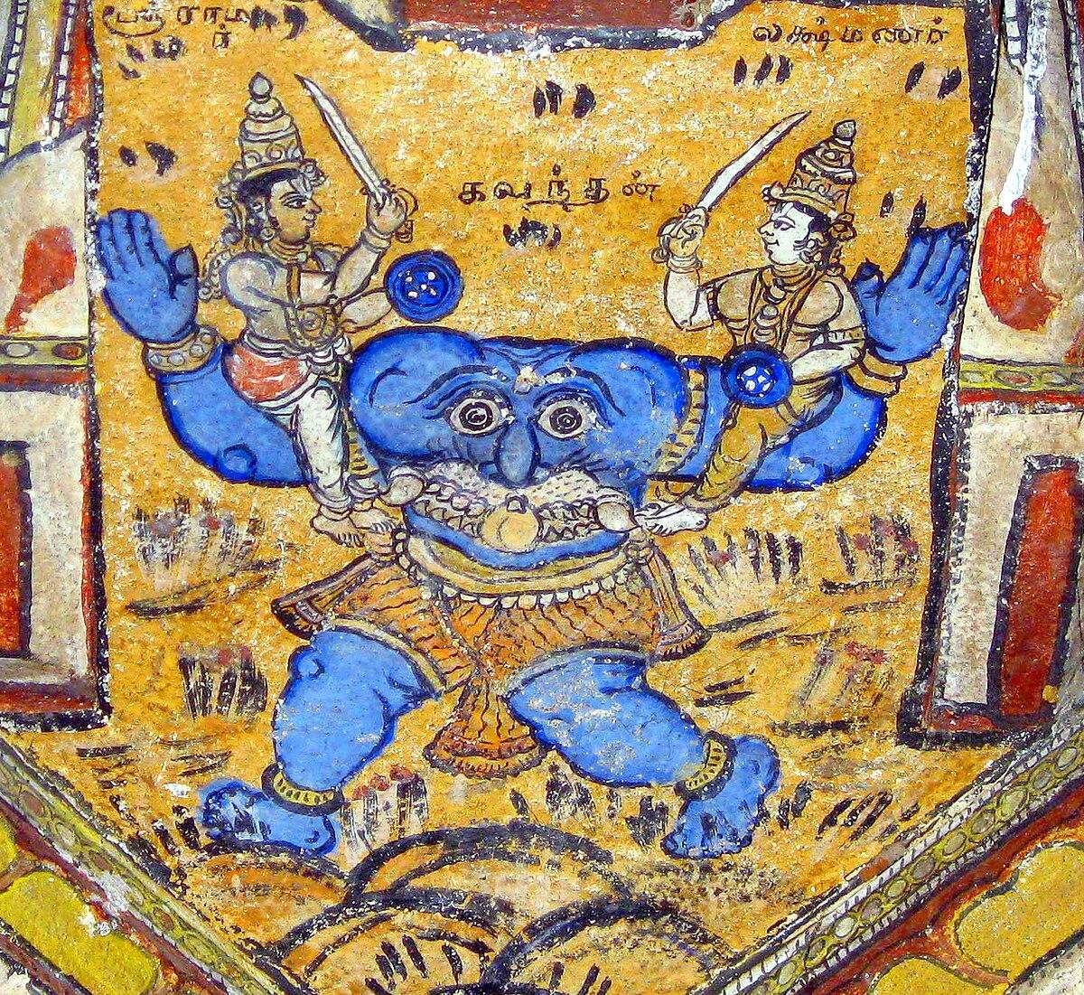 Kabandha - Wikipedia