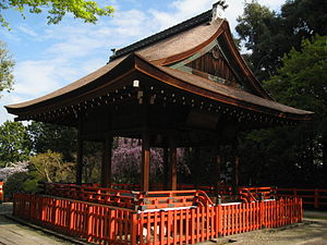 Kenkun Shrine - The Kaguraden at Kenkun shrine