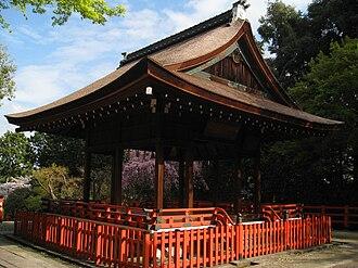 Kenkun Shrine - The Kaguraden at Kenkun shrine