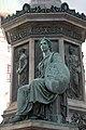 Kaiser Franz-Denkmal Hofburg Wien 2015 Sitzfiguren Stärke 01.jpg