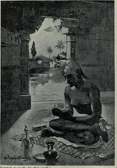 Kalidasa inditing the cloud Messenger, A.D. 375.jpg