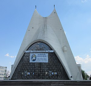 1993 in architecture - Image: Kalisz Sanktuarium Miłosierdzia Bożego