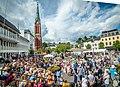 Kanalplassen Arendal under Canal Street 2015.jpg