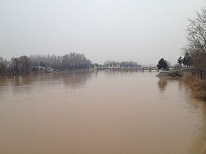 Kara Darya - Karadarya river near Andijan city