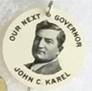 John C. Karel - Image: Karel 1912