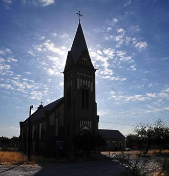 Karibib - Christ Church in Karibib, erected 1909/10