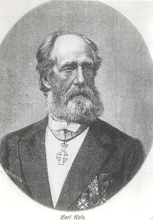 Karl Hals - Karl Marius Anton Johan Hals