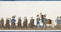 Karl XIV Johans livhäst i hans begravningståg, 1844 - Livrustkammaren - 108768.tif