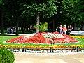 Karlovy Vary, květinové hodiny.jpg