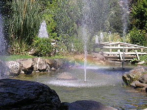 Katerini - A park in Katerini.