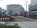Katowice, Rynek, tramvaj Konstal.JPG