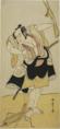 Katsukawa Shunsho, The Actor Otani Hiroji III in an Unidentified Role(1775–1785).png