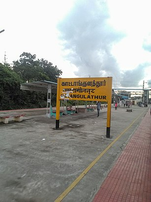 How To Get To Kattangulathur Railway Station In