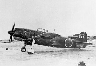 Kawanishi N1K - Kawanishi N1K2-J, probably N1K4-J Shiden Kai Model 32. Only two prototypes were built.