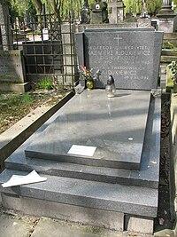 Kazimierz Ajdukiewicz grób.JPG