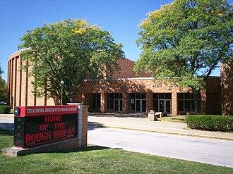 Kent City School District - Image: Kent Roosevelt front 2