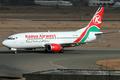 Kenya Airways Boeing 737-300 5Y-KQC NBO 2006-2-26.png