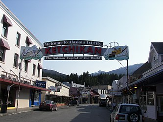 Ketchikan welcome sign, Alaska.jpg