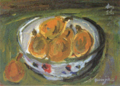 KidaKinjiro-1953-Picture of Loquats.png