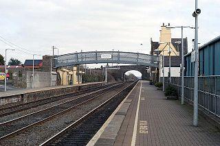 Kildare railway station Railway station in Southern Ireland