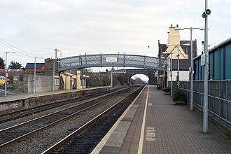 Kildare railway station - Image: Kildare railway station 1