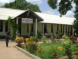 Kilinochchi Town in Northern, Sri Lanka