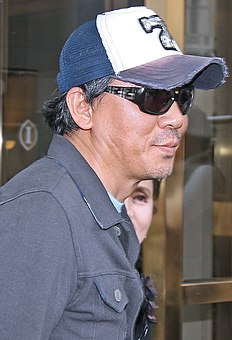 Kim Jee-woon auf dem Toronto International Film Festival 2008.