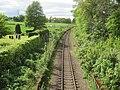 Kinaldie railway station (site), Aberdeenshire (geograph 5409384).jpg