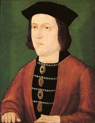 English and British royal mistress - Edward IV, whose womanising led to several claims concerning precontracted marriages