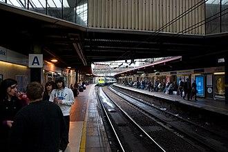 King's Cross Thameslink railway station - Image: Kings X Thameslink