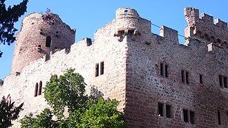 Château de Kintzheim - Ruins of the Château de Kintzheim