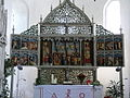 Kirchenaltar in der St. Martinskirche, Tettens (Altar in the Church of St Martin, Tettens) - geo.hlipp.de - 3736.jpg