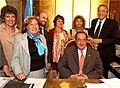 Kirchner recibió al intendente de Tandil, Miguel Ángel Lunghi.jpg